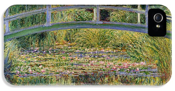 The Waterlily Pond With The Japanese Bridge IPhone 5s Case by Claude Monet