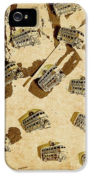 1950s iPhone 5s Case - The Weathered Downtown by Jorgo Photography - Wall Art Gallery