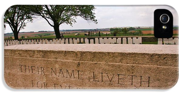 Their Name Liveth For Evermore IPhone 5s Case