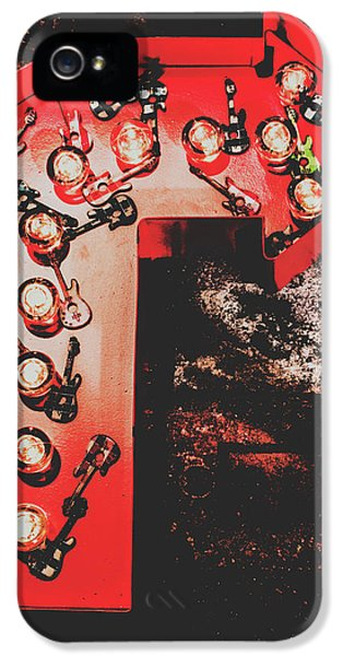 Rock And Roll iPhone 5s Case - This Way To Rock City by Jorgo Photography - Wall Art Gallery