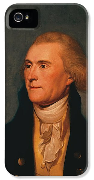 Thomas Jefferson IPhone 5s Case by War Is Hell Store