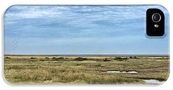 iPhone 5s Case - Thornham Marshes, Norfolk by John Edwards