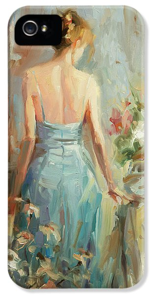Figurative iPhone 5s Case - Thoughtful by Steve Henderson