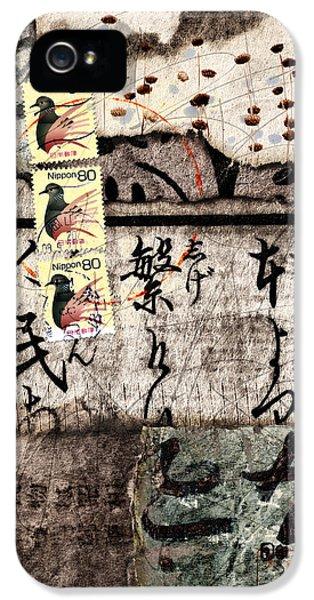 Three Bird Night Collage IPhone 5s Case