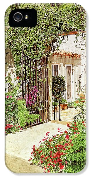 Through The Garden Gate IPhone 5s Case