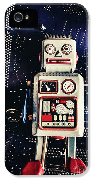 1950s iPhone 5s Case - Tin Toy Robots by Jorgo Photography - Wall Art Gallery