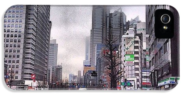 Tokyo Cloudy IPhone 5s Case by Moto Moto