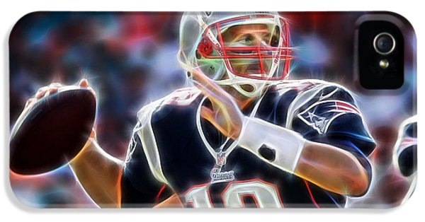 Tom Brady Collection IPhone 5s Case by Marvin Blaine