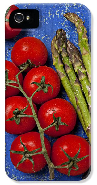 Tomatoes And Asparagus  IPhone 5s Case