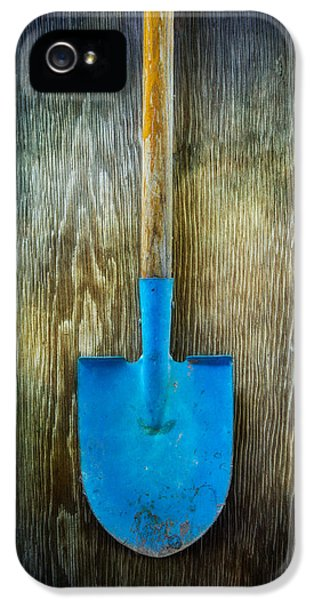 Rural Scenes iPhone 5s Case - Tools On Wood 23 by Yo Pedro