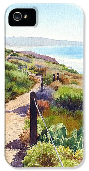 Planets iPhone 5s Case - Torrey Pines Guy Fleming Trail by Mary Helmreich