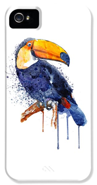 Toucan iPhone 5s Case - Toucan by Marian Voicu