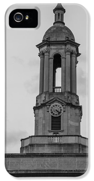 Penn State University iPhone 5s Case - Tower At Old Main Penn State by John McGraw