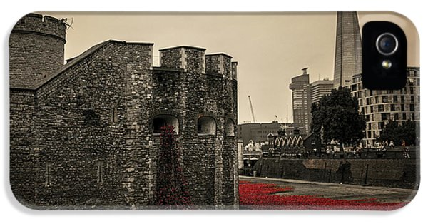Tower Of London IPhone 5s Case by Martin Newman