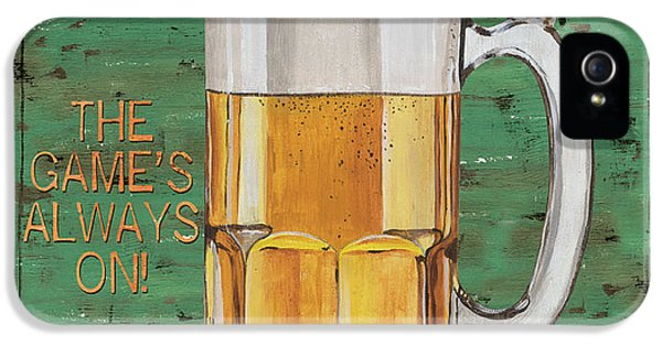 Beer iPhone 5s Case - Township Saloon by Debbie DeWitt