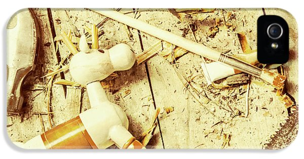 Toy Making At Santas Workshop IPhone 5s Case by Jorgo Photography - Wall Art Gallery