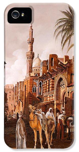 Camel iPhone 5s Case - tre cammelli in Egitto by Guido Borelli
