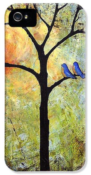Tree Painting Art - Sunshine IPhone 5s Case