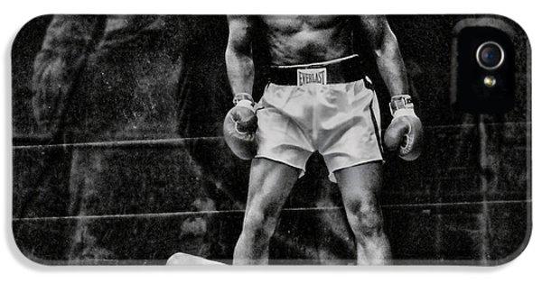 Sonny iPhone 5s Case - Trinity Boxing Gym Ali Vs Liston  by Chuck Kuhn