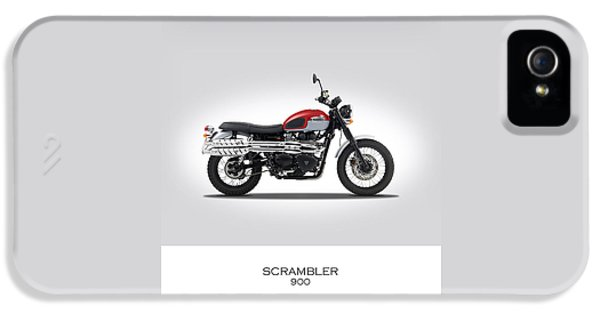 Triumph Scrambler 2015 IPhone 5s Case by Mark Rogan