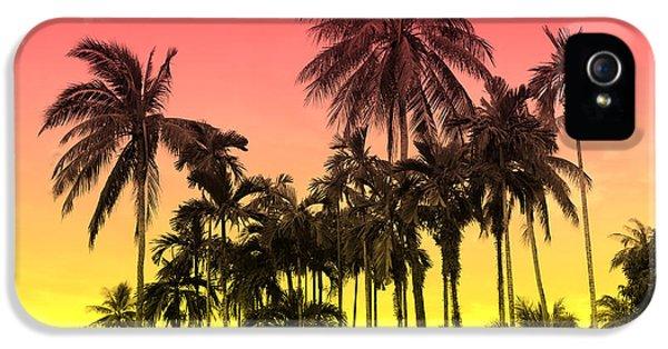 Fantasy iPhone 5s Case - Tropical 9 by Mark Ashkenazi