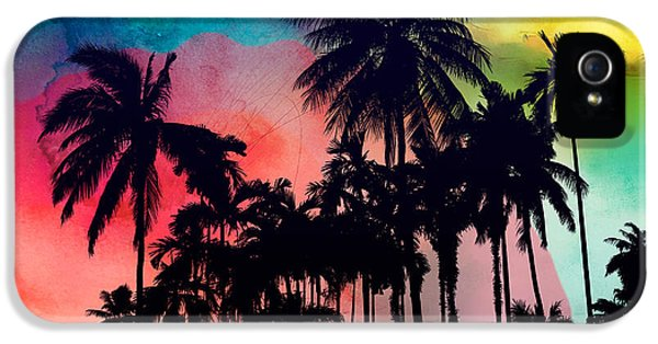 Tropical Colors IPhone 5s Case by Mark Ashkenazi