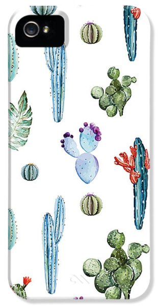 Tropical Forever 2 IPhone 5s Case by Mark Ashkenazi
