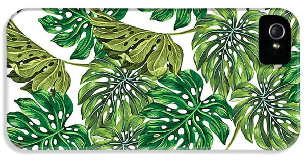 Tropical Haven  IPhone 5s Case by Mark Ashkenazi