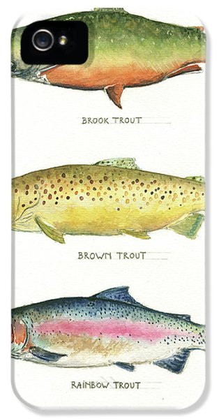 Trout Species IPhone 5s Case