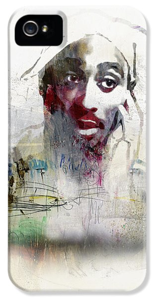 Tupac Graffitti 2656 IPhone 5s Case by Jani Heinonen