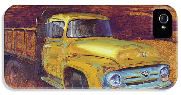 Truck iPhone 5s Case - Turning Into The Light by Cody DeLong