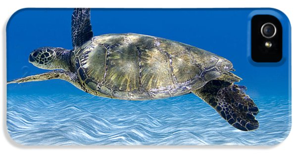 Turtle Flight -  Part 2 Of 3  IPhone 5s Case