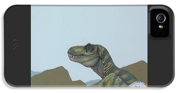 Tyranosaurus Rex IPhone 5s Case by Jasper Oostland