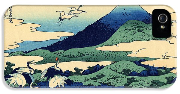 Umegawa In Sagami Province, One Of Thirty Six Views Of Mount Fuji IPhone 5s Case by Hokusai