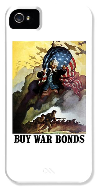 Landmarks iPhone 5s Case - Uncle Sam - Buy War Bonds by War Is Hell Store
