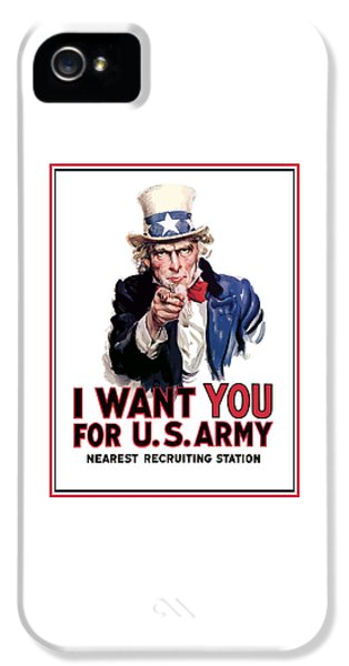 Uncle Sam -- I Want You IPhone 5s Case