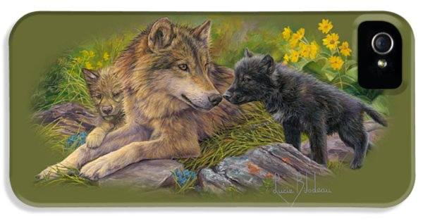 Wildlife iPhone 5s Case - Unconditional Love by Lucie Bilodeau