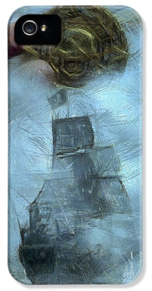 Unnatural Fog IPhone 5s Case by Benjamin Dean