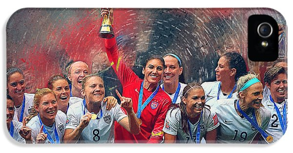 Us Women's Soccer IPhone 5s Case