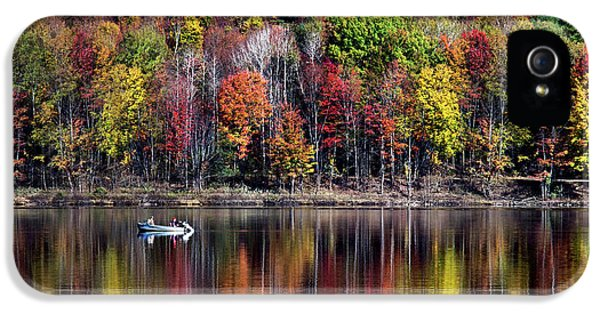 Vanishing Autumn Reflection Landscape IPhone 5s Case