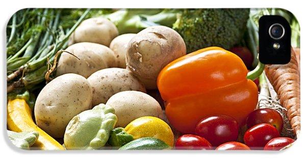 Vegetables IPhone 5s Case by Elena Elisseeva