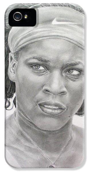 Venus Williams IPhone 5s Case by Blackwater Studio