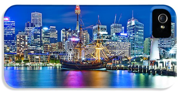 Vibrant Darling Harbour IPhone 5s Case