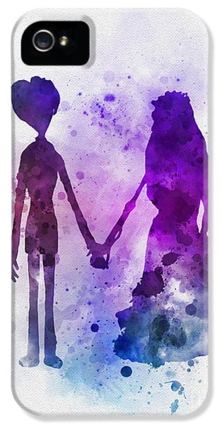 Johnny Depp iPhone 5s Case - Victor And Emily by Rebecca Jenkins