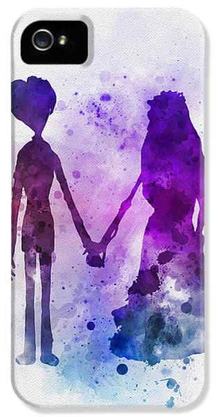 Victor And Emily IPhone 5s Case by Rebecca Jenkins