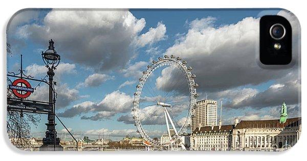 Victoria Embankment IPhone 5s Case by Adrian Evans