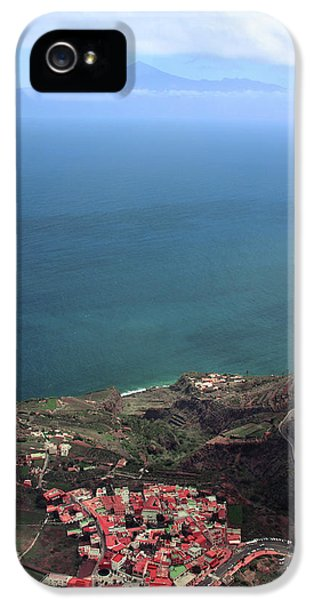 Canary iPhone 5s Case - View Of Teide From La Gomera by Cambion Art