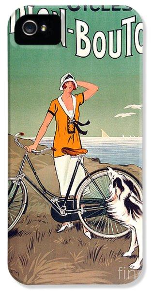 Vintage Bicycle Advertising IPhone 5s Case