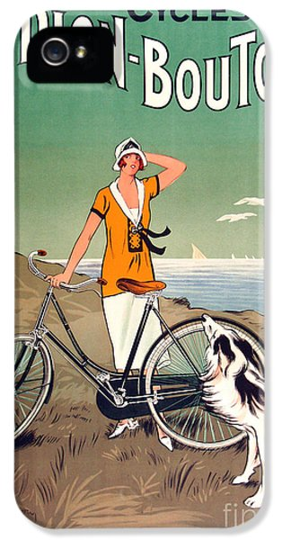 Bicycle iPhone 5s Case - Vintage Bicycle Advertising by Mindy Sommers
