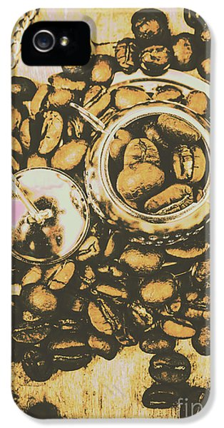 Kettles iPhone 5s Case - Vintage Cafe Artwork by Jorgo Photography - Wall Art Gallery